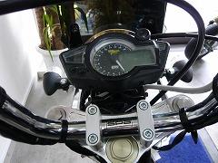 ハンドル周り デジタルマルチメーター